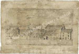 Rutson Hospital/Vine House Northallerton 1790